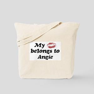 Kiss Belongs to Angie Tote Bag