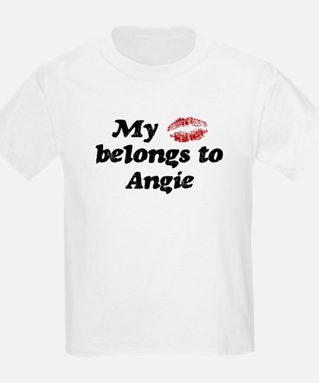 Kiss Belongs to Angie T-Shirt