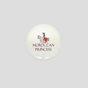 Moroccan Princess Mini Button