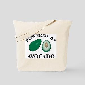 Powered By Avocado Tote Bag
