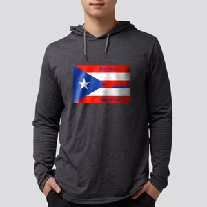 Puerto Rican Flag NYC Statue o Long Sleeve T-Shirt