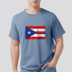 Puerto Rican Flag NYC Statue of T-Shirt