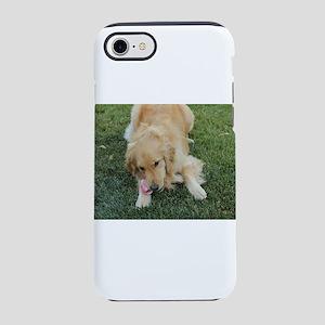 Nala the golden retriever on iPhone 8/7 Tough Case