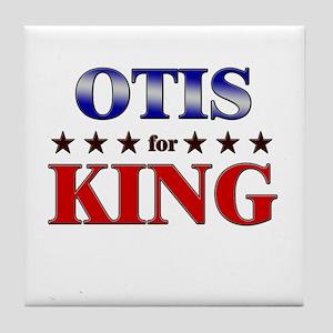OTIS for king Tile Coaster