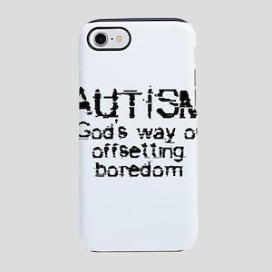 Cute autism iPhone 8/7 Tough Case