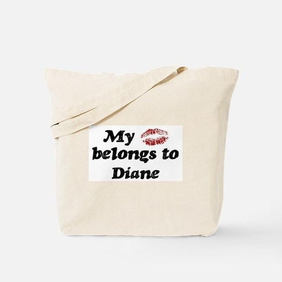 Kiss Belongs to Diane Tote Bag
