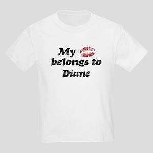 Kiss Belongs to Diane Kids Light T-Shirt