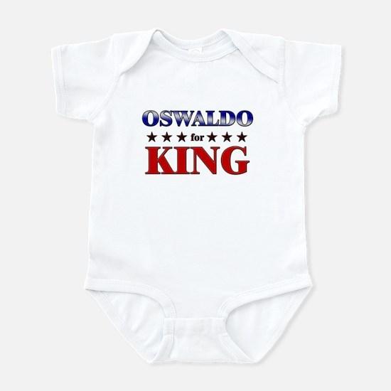 OSWALDO for king Infant Bodysuit