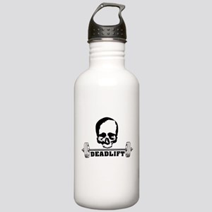 skull with barbell - d Stainless Water Bottle 1.0L