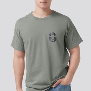 USAF: CMSgt E-9 (ABU) Mens Comfort Colors Shirt