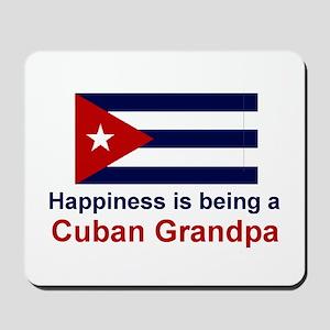 Happy Cuban Grandpa Mousepad