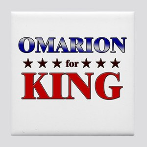 OMARION for king Tile Coaster