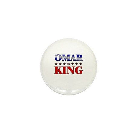 OMAR for king Mini Button (10 pack)