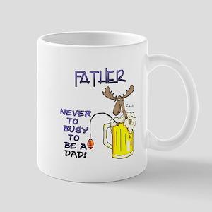 """""""Father - never too busy..."""" Mug"""