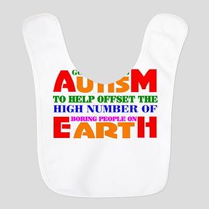 Autism Polyester Baby Bib