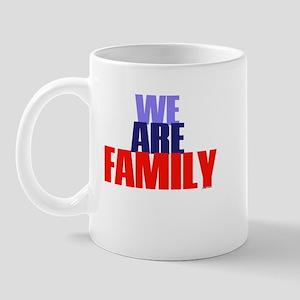 We Are Family (1) - TuneTitles Mug