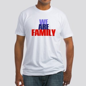 We Are Family (1) - TuneTitles Fitted T-Shirt