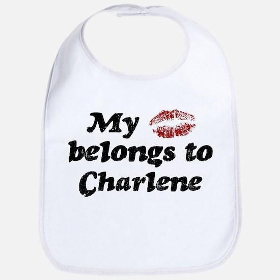 Kiss Belongs to Charlene Bib