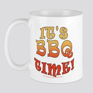 It's BBQ Time Mug