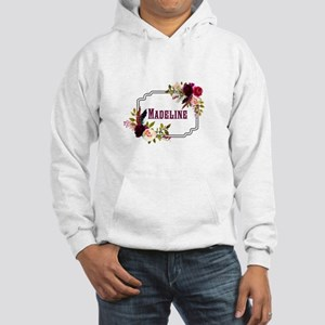 Personalized Floral Wreath Monogram Sweatshirt