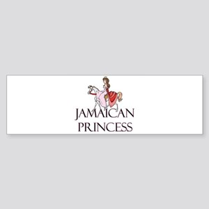 Jamaican Princess Bumper Sticker