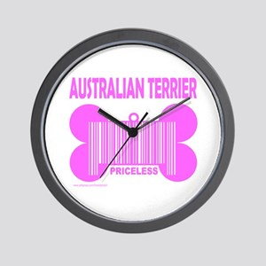 AUSTRALIAN TERRIER PRICELESS Wall Clock