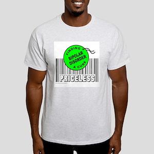 BIPOLAR DISORDER FINDING A CURE Light T-Shirt