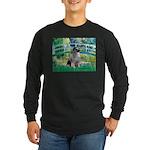 Bridge / Keeshond Long Sleeve Dark T-Shirt