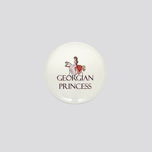 Georgian Princess Mini Button