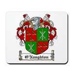 O'Naughton Family Crest Mousepad