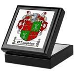 O'Naughton Family Crest Keepsake Box