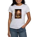 Queen / Cocker Spaniel (br) Women's T-Shirt