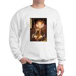 Queen / Cocker Spaniel (br) Sweatshirt