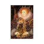 Queen / Cocker Spaniel (br) Rectangle Magnet (10 p