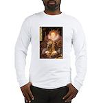 Queen / Cocker Spaniel (br) Long Sleeve T-Shirt
