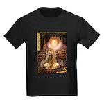 Queen / Cocker Spaniel (br) Kids Dark T-Shirt