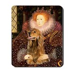 Queen / Cocker Spaniel (br) Mousepad