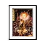 Queen / Cocker Spaniel (br) Framed Panel Print