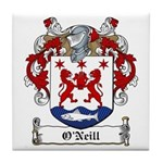 O'Neill Family Crest Tile Coaster