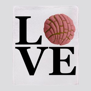 LOVE Concha De Fresa Throw Blanket