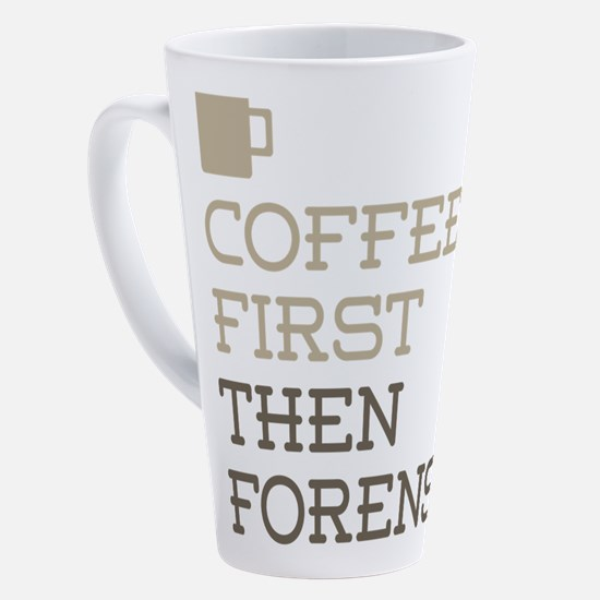 Cute Forensic scientist 17 oz Latte Mug