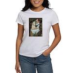 Ophelia / Cocker Spaniel (buff) Women's T-Shirt