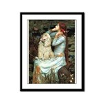 Ophelia / Cocker Spaniel (buff) Framed Panel Print