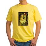 Ophelia / Cocker Spaniel (buff) Yellow T-Shirt