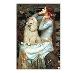 Ophelia / Cocker Spaniel (buff) Postcards (Package