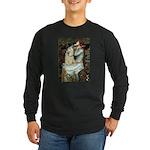 Ophelia / Cocker Spaniel (buff) Long Sleeve Dark T