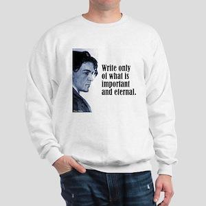"""Chekhov """"Write Only"""" Sweatshirt"""