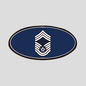 USAF: CMSgt E-9 (Blue) Patch