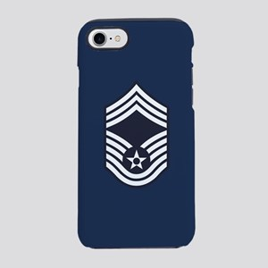 USAF: CMSgt E-9 (Blue) iPhone 8/7 Tough Case