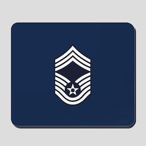 USAF: CMSgt E-9 (Blue) Mousepad